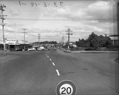 Intersection of Pembroke, Lorne and Tawa streets, and Ohaupo Road