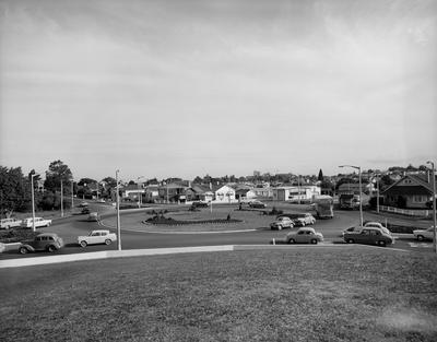 Norton Road roundabout