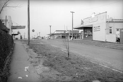 Te Aroha Street and Grey Street intersection