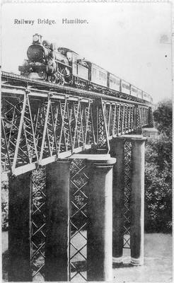 Railway Bridge, Hamilton after 1908