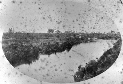 Waikato River and East bank, Hamilton