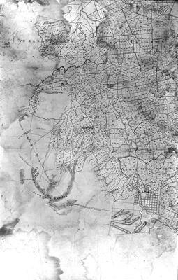 Military settlement map bottom left