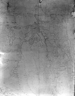 Newell's map of Waikato top right