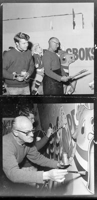 W R Hawkins, Booth & Chapman - Waikato / Springbok display