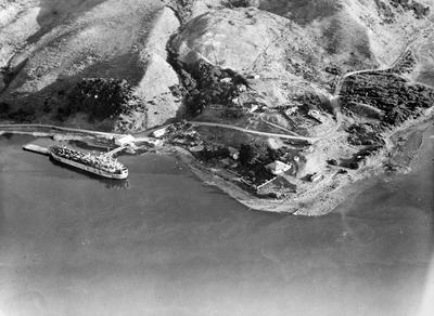 Port Waikato from air