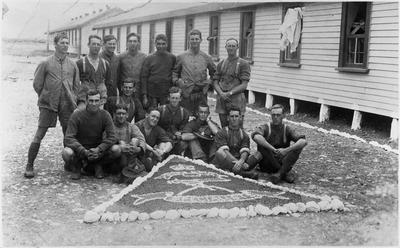 "Military group photo ""specials"" ? Ngaruawahia"