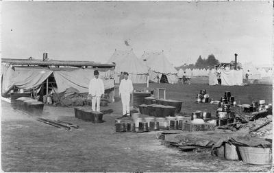 Cook tent ? - military camp Hopuhopu ?
