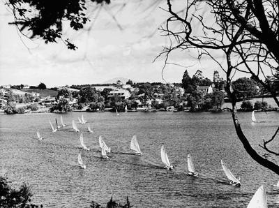 Yachting on Hamilton's Lake Rotoroa