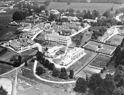 Aerial view - Hospital