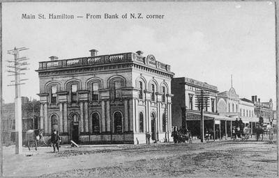 BNZ corner of Hood and Victoria Street
