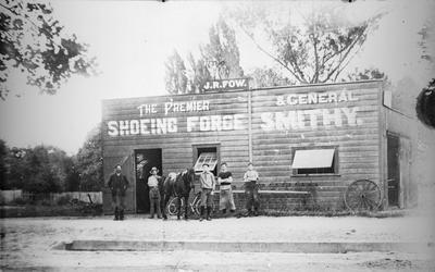 The Premier Shoeing Forge & General Smithy