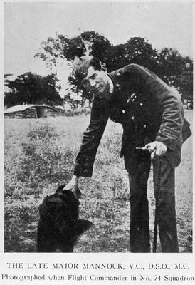 Major Mannock V.C., D.S.O., M.C. (Englishman born in Ireland)