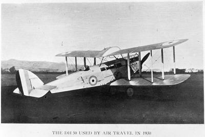 The D.H.50 used by Air Travel in 1930