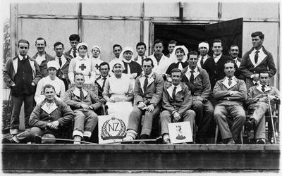 Ward 7 No. 2 NZ Hospital - Walton-on-Thames - World War 1