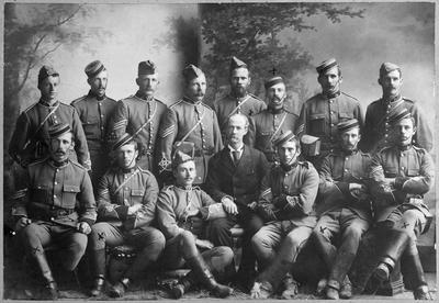 Waikato Volunteers 1st cont. Boer War