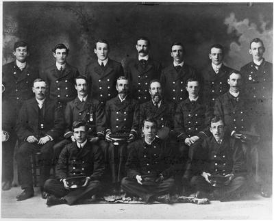 Hamilton Fire Brigade staff