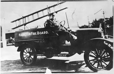 Hamilton Fire Board - 1925 Model T Ford