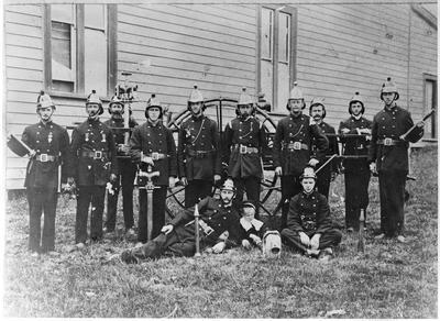 Hamilton Fire Brigade & equipment