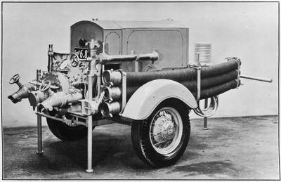 Hamilton Fire Brigade - Trailor pump