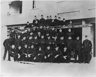 Hamilton Emergency Fire Service - World War ll