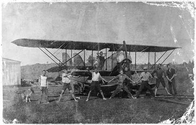 Walsh Bros Flying School, Kohimarama