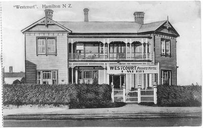 Westcourt Boarding House - Private Hotel, Hamilton