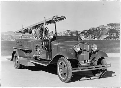 Fire Engine - Napier Fire Brigade