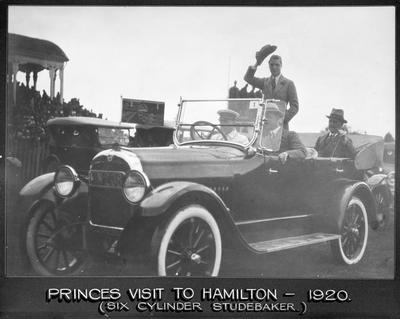 Prince of Wales visit to Hamilton