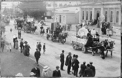 Labour Day parade 1913
