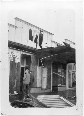 Frankton Tornado - Commerce Street