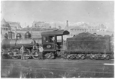 Locomotive 252 at Auckland