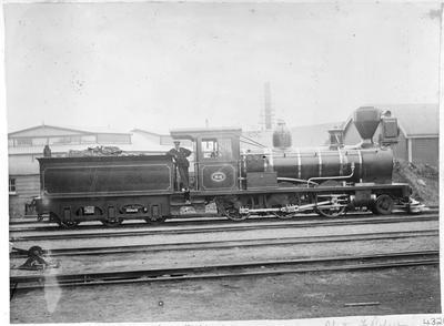 Locomotive 84 - Tom Smith, night foreman