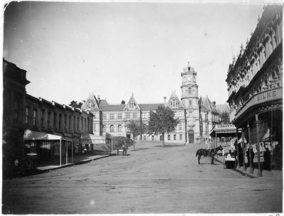 Auckland City Art Gallery in Wellesly Street (then Library)