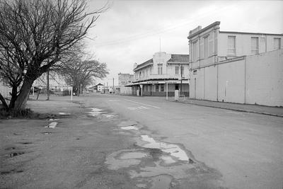 Frankton Hotel at junction of Commerce and High Streets