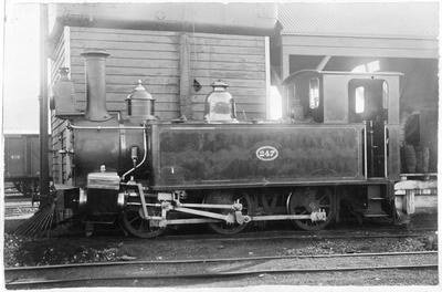 Locomotive 247 at Newmarket