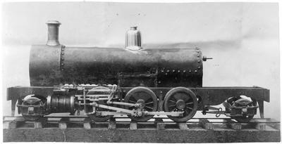 Frank Roberts 1st model locomotive 288 Wa Steam