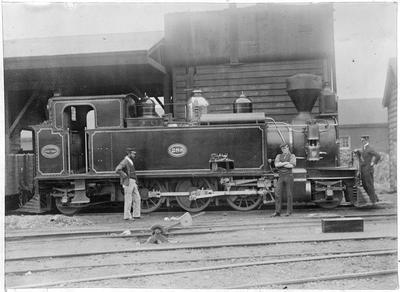 The Wa Steam 288 locomotive e model at Auckland