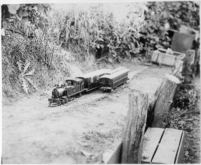 RSR miniature railway Loco 288 - Mercer - F Roberts