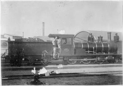 Engine 70 - with Wakeheld and F Roberts