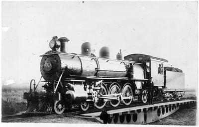 Locomotive Q329 at Rotorua
