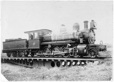 Locomotive 304 at Rotorua ?