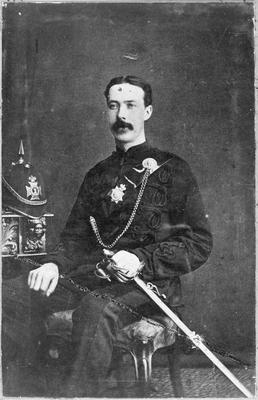 Major James Reid - Waikato Mounted Rifles