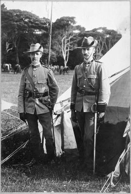 Major Reid of Hamilton East - on the left