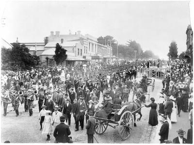 Parade of Boer War Co. in Auckland