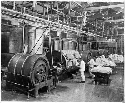 Waharoa butter factory, butter churns