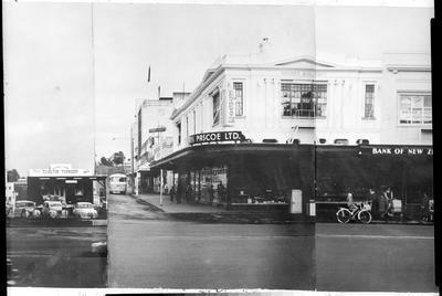 """Pascoe's Corner, Garden Place - centennial mock """"Hamilton Township General Store'"""