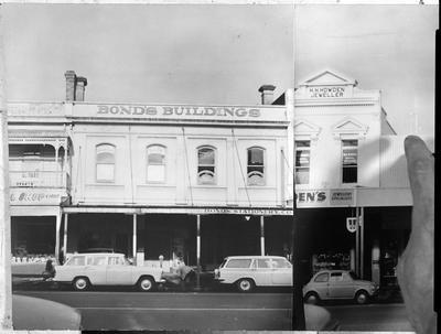 Victoria Street south - shops Bonds, Howden