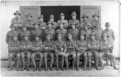 Portrait - Army group