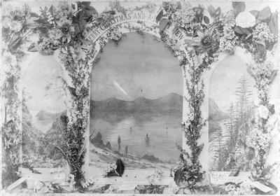 Comet 1882, Mount Earnslaw, Purakaunui, Otago