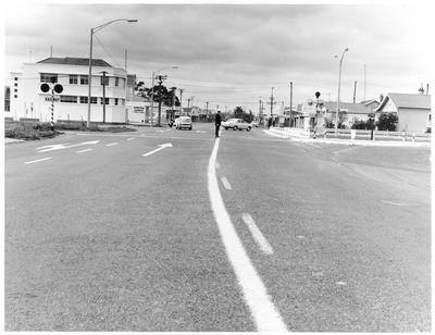 Station Road, Grey Street intersection, Claudelands